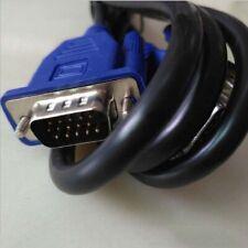 HD 1.5m Copper Extension Cord  Computer Monitor Wire Line VGA Cable S