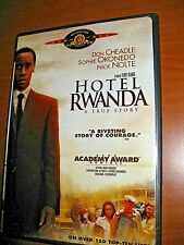 Hotel Rwanda 2004 Dvd with original pamphlet Nick Nolte, Don Cheadle