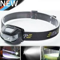 NEW USB Sensor Head Light Torch Headlamp Headlight Lamp Rechargeable Lumens