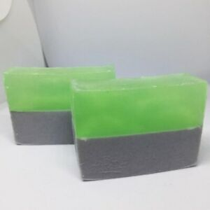 Peppermint Menthol Handmade Soap with Essential Oil