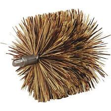 """6 Pk Meeco´s Red Devil 4"""" Dia 1/4-20 Thread Pellet Stove Chimney Brush 84333"""