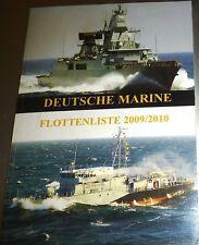 allemande Marine flottenliste 2009/2010 hj3 Å