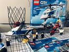 Lego city police helicopter chase 60243 with extra police bike