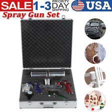 3 Size Spray Gun Set Paint Sprayer Kit For Painting Projects Industrial Supplies