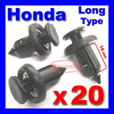 HONDA BUMPER WHEEL ARCH LINING SPLASHGUARD WING TRIM CLIPS Accord civic crv jazz
