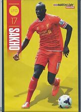 MOTD-POSTER 2013/14-LIVERPOOL & FRANCE-PARIS SAINT-GERMAIN-MAMADOU SAKHO