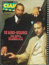 CIAK Anno 3° N.6 Giugno 1987_De Niro-Rourke una coppia diabolica e molto altro*