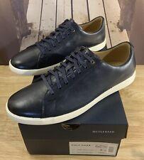 Cole Haan Grand Crosscourt II Sneaker C26522 Size 9 Men's Navy Leather BRNSH