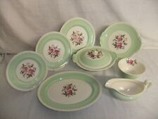C4 Pottery Johnson Bros - Old English - plates, tureen, jugs, sugar bowl 2D1B