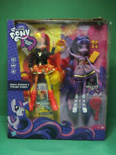 Mon Petit Poney Poupée SUNSET SHIMMER & TWILIGHT SPARKLE Equestria Girls doll RY