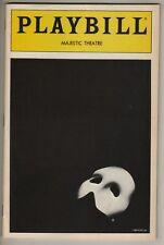 "Michael Crawford ""Phantom of the Opera"" Playbill 1988 Steve Barton TICKETS"