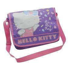 Personaje Hello Kitty Messenger Hombro Mochila Escolar * Nuevo