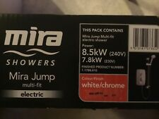 Mira Jump 8.5kW White & Chrome Electric Shower 1.1788.010