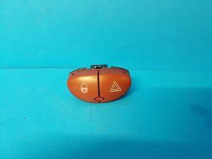 Peugeot 206 CC Convertible Hazard & Door Lock Switch Valeo     myref D1