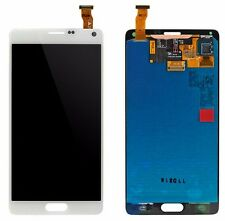 WHITE LCD Digitizer Touch Screen Assembly for Samsung Galaxy Note 4 N910A N910V