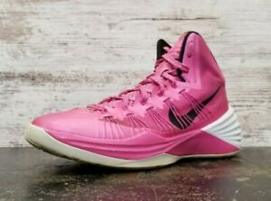 2013 Nike Hyperdunk Basketball Shoes Sz 7.5 M Used 599537 601 Breast Cancer Pink