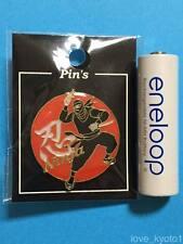 F/S Ninja Japanese Espionage Pin Badge from Kyoto Japan