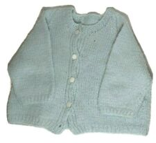 Boys ANGEL DEAR navy blue cotton knit cardigan sweater 3T NWT vintage classic