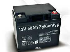 12V 50Ah kompatibel BLEI GEL AKKU GELBATTERIE TROCKENBATTERIE für Elektromobil