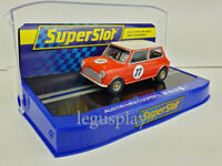 Slot Car Scalextric Superslot H4154 Austin Mini Cooper S Andrew Jordan 2019