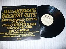 Jay and The Americans LP, Greatest Hits, UA UAS 6453, 1965, VG+