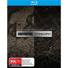 Band Of Brothers & The Pacific Blu-ray Box Set Complete HBO Series  12-Disc RB