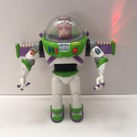 """Disney Store Toy Story 12"""" Talking BUZZ LIGHTYEAR Space Ranger Lights Sounds"""