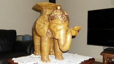 "Rare Magnificent Elephants Pedestal Table ""NOW  REDUCE"" GRAB A BARGAIN !!!"
