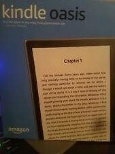 "Kindle Oasis E-reader 7"" High-Resolution Waterproof 8GB Wi-Fi Brand New!!"