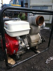 "4"" Honda Trash Pump GX340 barely used"
