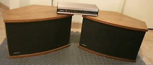 BOSE 901 SERIES V Speakers ( PAIR ) with Equalizer Tested Working Good Foam