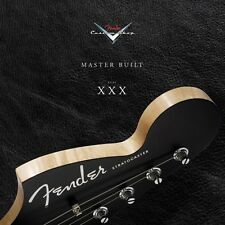 Fender Custom Shop at 30 Years Book Hardcover New 000194661