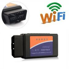 OBD2 Scanner ELM327 WIFI Car Diagnostic Tool Fault Code Reader Wireless Adaptor