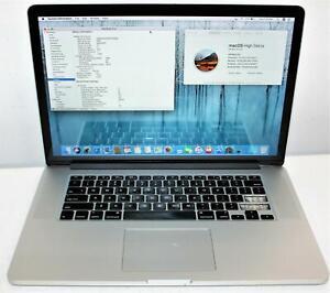 """15"""" Apple MacBook Pro Retina Intel Core i7 4770HQ 16GB 128GB 2014 MGXA2LL/A READ"""