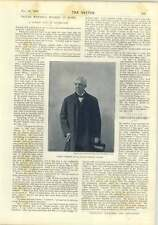 1893 Dr Oliver Wendell Holmes Short Chat Anthony Hope Clara Savile Clark