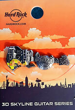 UNIVERSAL CITYWALK OSAKA 3D SKYLINE SERIES KOI FISH GUITAR Hard Rock Cafe PIN