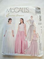 Vintage 1999 Sewing Pattern Top & Long Skirt Size 8-10-12 Uncut