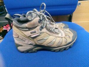 Merrell brown waterproof walking boots size 4/37