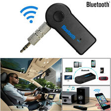 Ricevitore AUDIO BLUETOOTH WIRELESS 3.5mm ADATTATORE AUX AUTO MUSICA STEREO Hands-Free