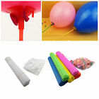 White Colorful Balloon Sticks Holders with Cups for Birthday Wedding Party LOT