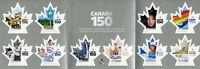 Canada 2017 MNH 150th Anniv Ice Hockey Olympics Nunavut 10v S/A Booklet Stamps