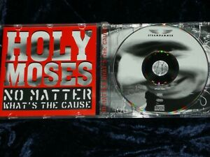 Holy Moses CD No Matter What's The Cause 1994   SPV 84-76862    EX/EX