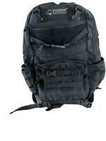 New Yukon Outfitters Tactical Backpack Black Urban Pack MOLLE