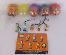 The Simpsons Tomy Mini Figure Charm Collection Halloween Series 1 2007 Set Of 5