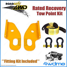 Nissan Patrol GU Series 2 Roadsafe Rated Recovery Heavy Duty Tow Points FULL Kit