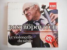 MSTISLAV ROSTROPOVITCH : LE VIOLONCELLE DU SIECLE [ CD ALBUM ] - PORT GRATUIT