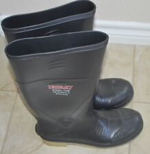 Tingley Steel Toe Rubber Boots ASTM F2413-11 M1/75 C/75 Size 8 Shoes Work