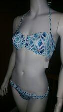 Rampage Two Piece Diamond Bikini Swimsuit NWT Sz S