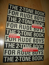 THE 2-TONE BOOK FOR RUDEBOYS SPECIALS MOD REVIVAL BEAT SKINHEAD TWO SKA MADNESS