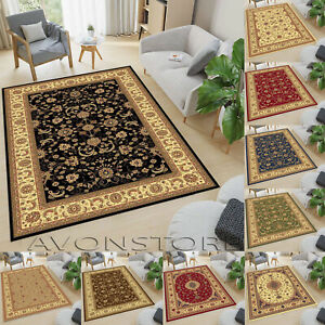 Luxury Traditional Area Rugs Large Runner Rug Living Room Non Slip Rugs Carpets